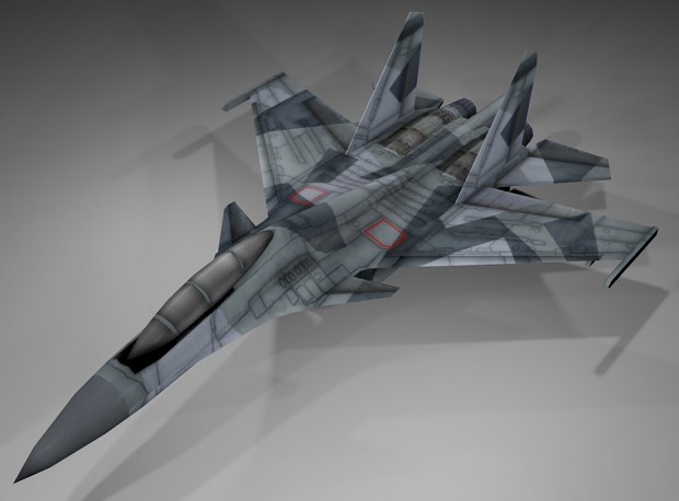 the new texture of su35