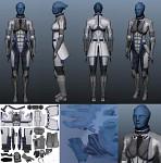 <10K Poly Liara T'Soni Model