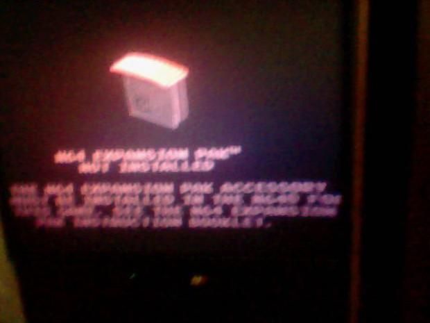 N64 expansion error.
