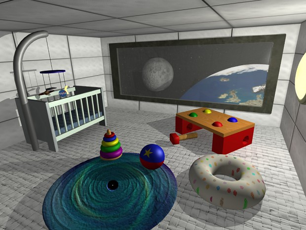 Spaceship nursery