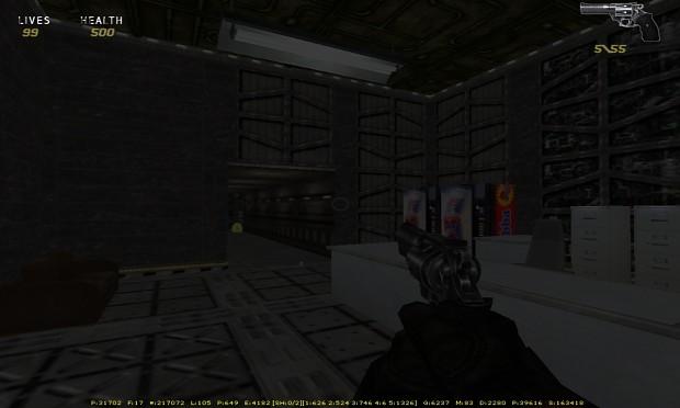 Old screenshot from Operation H.U.N.T.E.R.