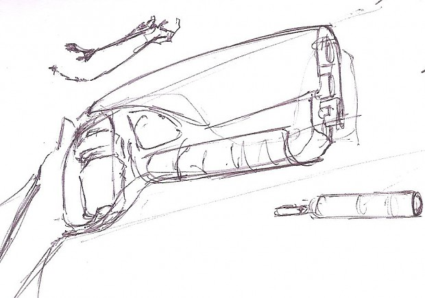 "Concept art for ""Adrenaline"" mod - #3"