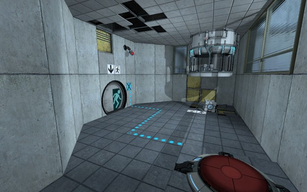 Portal: Rebirth 00 Puzzle