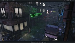UDK Environment - Day After Tomorrow Tokyo Scene