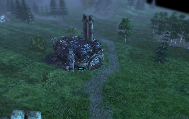 Russian tank factory
