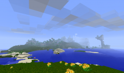 My screenshots from my new Minecraft world