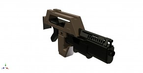 AVP Pulse Rifle model
