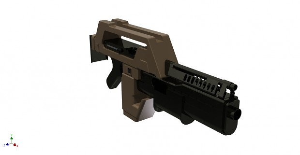 AVP Pulse Rifle model