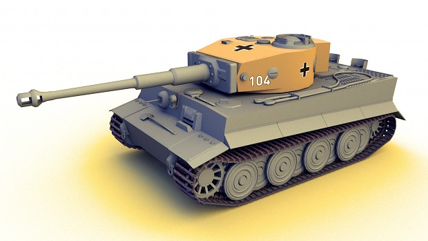 Tiger 1 E late