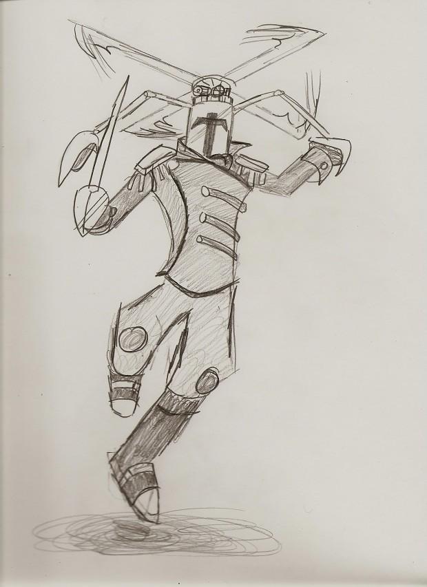 Swordsman of the Sky