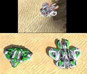 The Galaxy gunship ingame