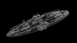 Aeon Advanced Battleship WIP Texturing