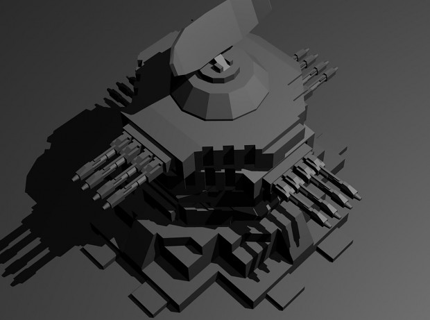 Early wip of a UEF super turret