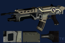 First Gun with textures