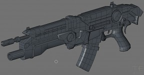 Potential Gun for an FPS shooter