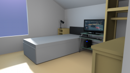 Got bored: my bedroom
