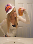 :O Nice hat!