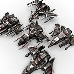 3D Light Combat Drones