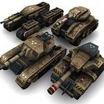 3D Sci-Fi Tanks