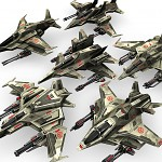 6 Jet Fighters