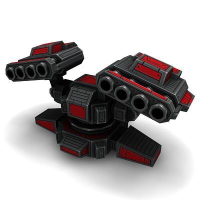 3D Rocket Louncher