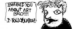 Splatfest Miiverse posts: Science vs Art