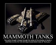 Mammoth Tank Demotivational