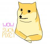 pixel doge