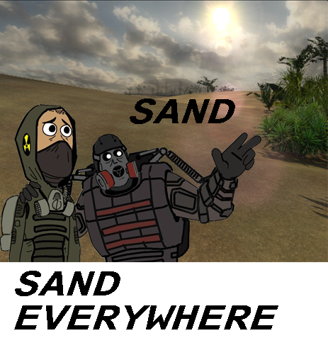SAND, SAND EVERYWHERE