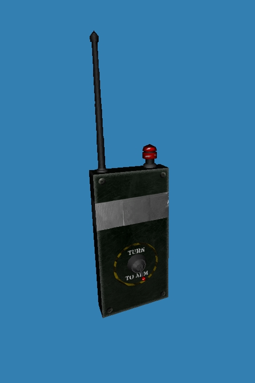 Radio Detonator (Modelled From Scratch)