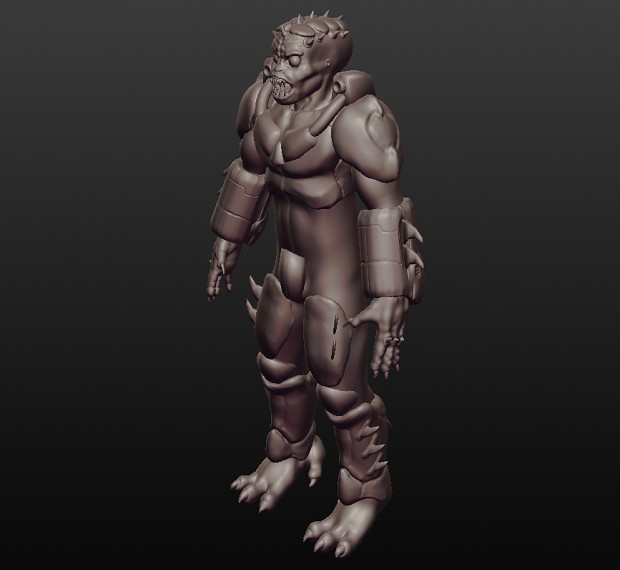 Mordrax Gunner Armor(WIP)