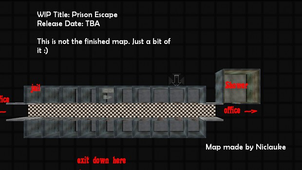Map for Prison Escape