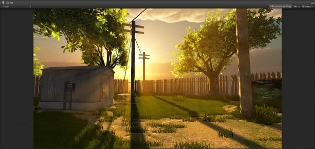 Unity Scene WIP Update 2
