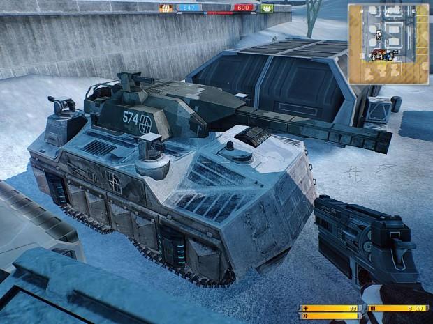 Battlefield 2142 A3 Goliath and A8 Tiger hybrid.