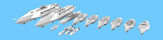 Fictional Naval Fleet