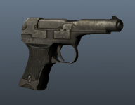 Nambu 94 Pistol for an RTS mod