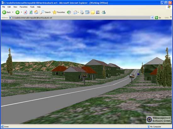 VR Internal - Virtual Worlds