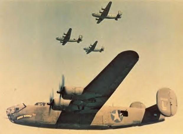 American B-24 Bombers