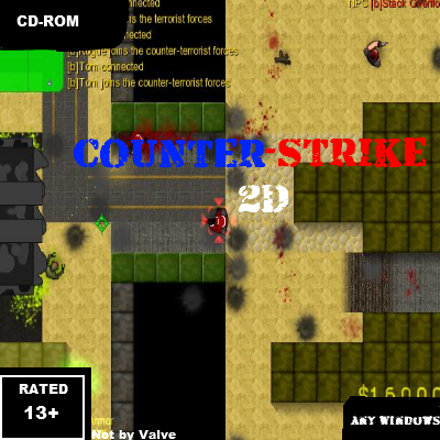 Counter-Strike 2D Box Shot