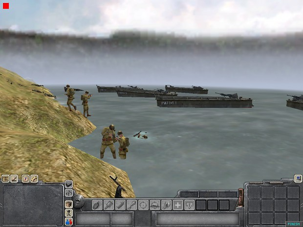 Some screenies of Men of war.The map is made by me