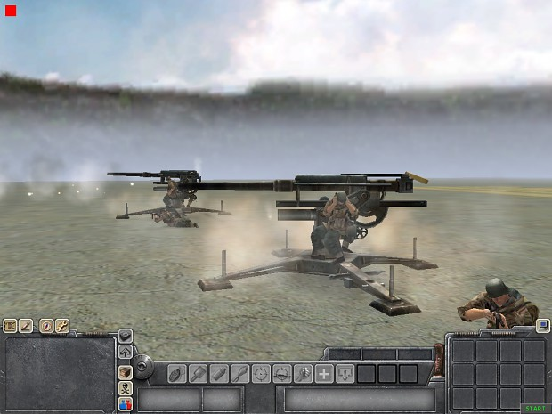 Some screenies of another map in Men of War.
