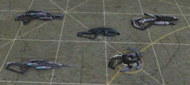 Geth Weapons
