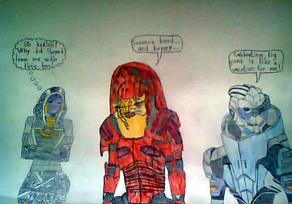 Mass Effect Fan Art