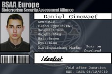 My BSAA ID Card