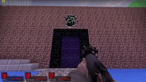 L4D2 - Surivel map (Minecraft style)