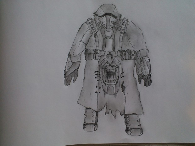 Weekly drawing #7: Nomad