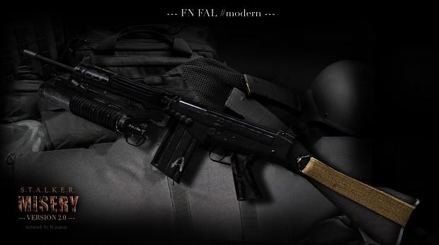 FN FAL/CAL artwork