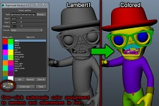 Nightshade Blockout v1.0 (Maya tool)
