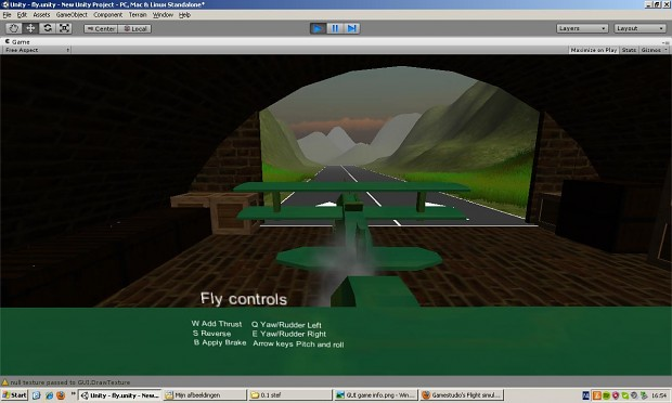 Fly game by Gamestudio's