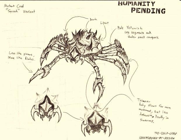 """Mutant Crab """"Speed"""" Variant"""